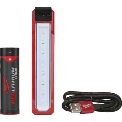 Milwaukee ROVER LED Aluminum REDLITHIUM USB Flood/Rechargeable Flashlight