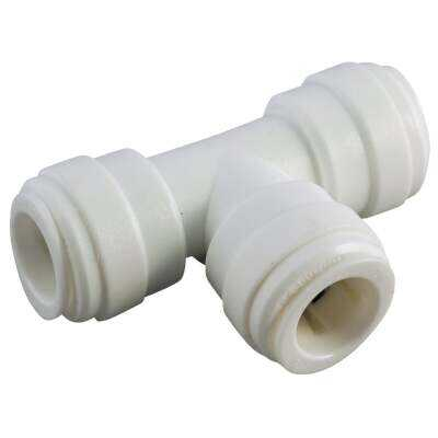 Anderson Metals 5/8 In. x 5/8 In. x 5/8 In. Push-In Plastic Tee