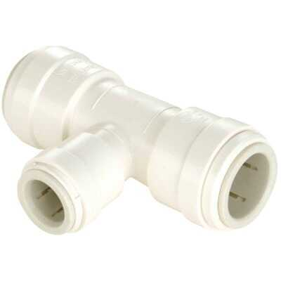 Watts 1/2 In. x 1/2 In. x 1/4 In. Reducing Quick Connect Plastic Tee