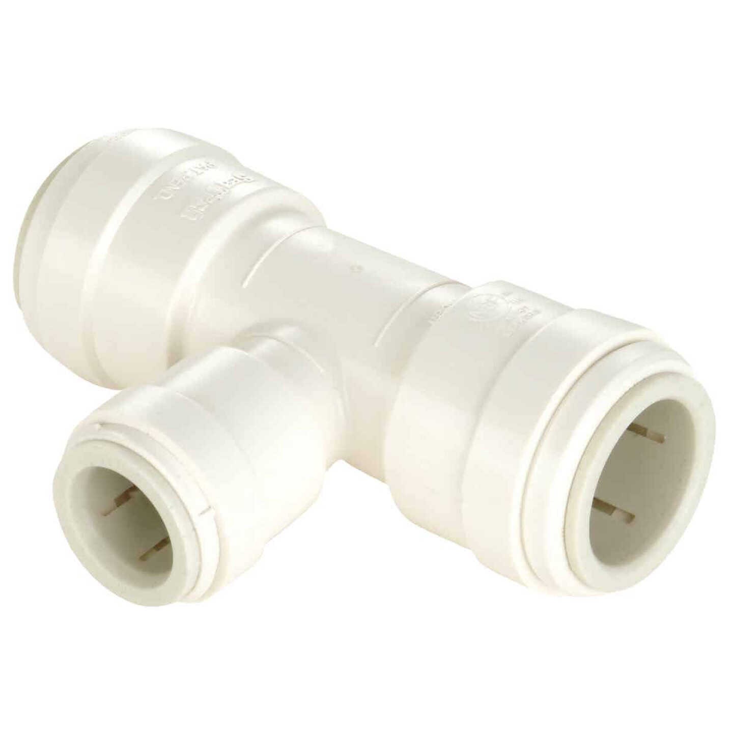 Watts 3/4 In. x 3/4 In. x 1/2 In. Reducing Quick Connect Plastic Tee Image 1