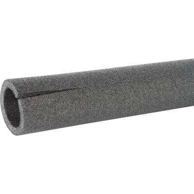 Tundra 1/2 In. Wall Semi-Slit Polyethylene Pipe Insulation Wrap, 1-1/4 In. x 6 Ft. Fits Pipe Size 1-1/4 In. Copper/ 1 In. Iron