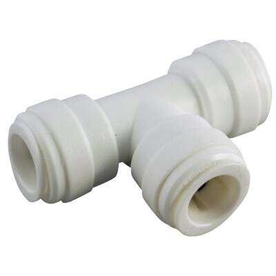 Anderson Metals 3/8 In. x 3/8 In. x 3/8 In. Push-In Plastic Tee